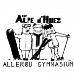Efterskoletrøjer Allerød Gymnasium trykmotiv