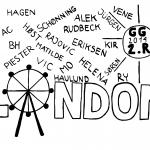 Efterskoletrøjer Gladsaxe Gymnasium trykmotiv