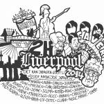 Efterskoletrøjer Sankt Annae Gymnasium trykmotiv 2