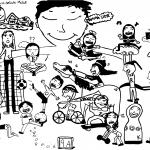 Efterskoletrøjer Skovshoved Skole trykmotiv